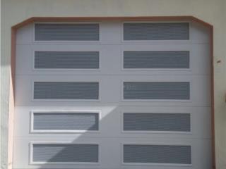 PUERTA INSULADA VENTILADA COMPLETA, EURO GARAGE DOORS Puerto Rico