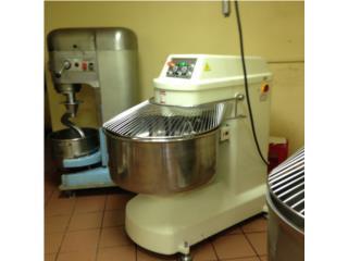 Maquina Espiral para masa, cap 150 o 200 lbs., @ Muñoz Bakery Equipment, Inc. Puerto Rico