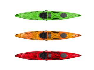 Tarpon 160 con Timon Para Pesca y Aventuras, Aqua Sports Kayaks Distributors Puerto Rico 1991 Puerto Rico
