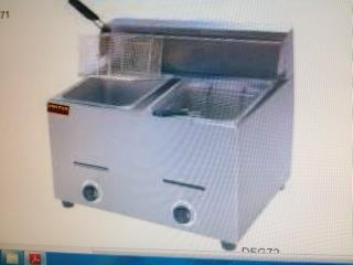 FRYER GAS mesa/2 TANQUES-2 CANASTAS...NUEVO, AA Industrial Kitchen Inc Puerto Rico