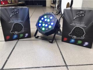 Focos LED con controlador digital, Baldorioty Music Puerto Rico