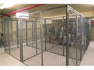 WIRE MESH PARTITION (JAULA DE SEGURIDAD), CARIBE SHELVINGS Puerto Rico