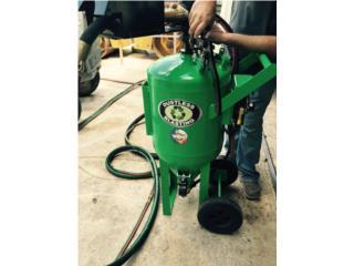 Vega Alta Puerto Rico Equipo Comercial, Dustless Blasting DB225 Remoción de Pintura