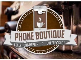 PUERTOS DE CARGA DE GALAXY IPHONE BLACKBERRY , PHONE BOUTIQUE & COFFEE SHOP Puerto Rico