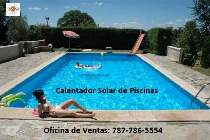 Calentador solar de piscina caliente siempre puerto rico for Calentador piscina solar