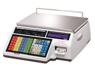 Balanza-CAS-CL-5000-Printer-DACO, Altech Instrumentation Service Puerto Rico