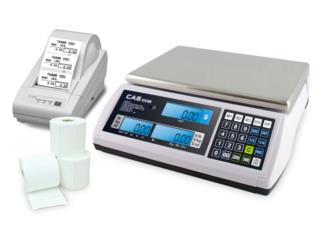 Balanzas - CAS S-2000JR Price Computing/DACO, Altech Instrumentation Service Puerto Rico