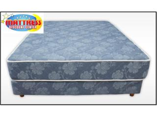 MATTRESS Y BOX SPRING (SET)- FULL NUEVOS, Mattress Discount Center Puerto Rico