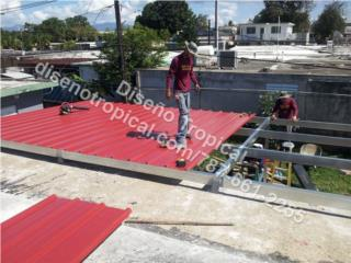 TECHO GALVALUME, Diseño Tropical Puerto Rico