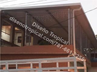 TECHO BLANCO GALVALUME  G.24, Diseño Tropical Puerto Rico