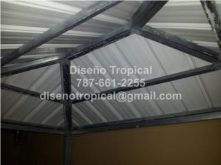 TECHOS GALVALUME, Diseño Tropical Puerto Rico