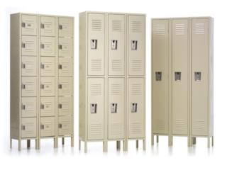 LOCKERS(CASILLEROS), CARIBE SHELVINGS Puerto Rico