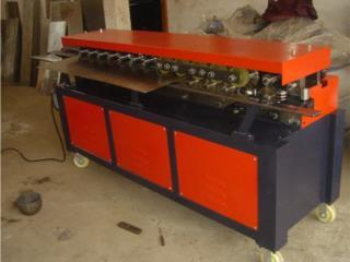 maquinas de hacer ductos lockformer tdc, Josue Refrigeration, Inc. Puerto Rico