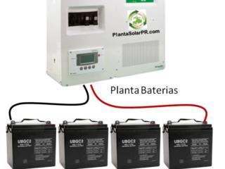 Backup Casa y apartamento Sin Ruido, 24/7 Planta Solar Puerto Rico