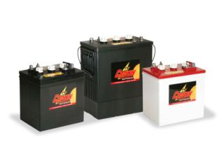 Baterias para Maquinas de limpiar Tijeras, 24/7 Planta Solar Puerto Rico