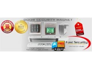 Cerraduras Magnéticas para negocio y oficina, FAST SECURITY  Puerto Rico