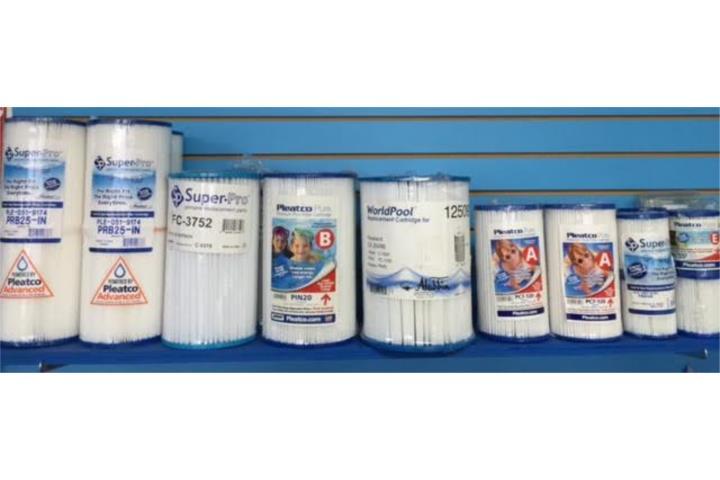 cartucho para filtros de piscina plasticas puerto rico