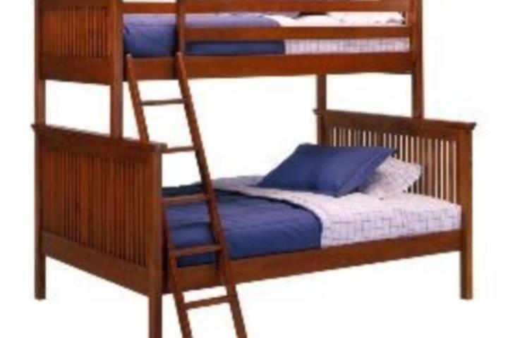 Muebles Para Baño Puerto Rico:Litera en madera twin arriba y full abajo Puerto Rico