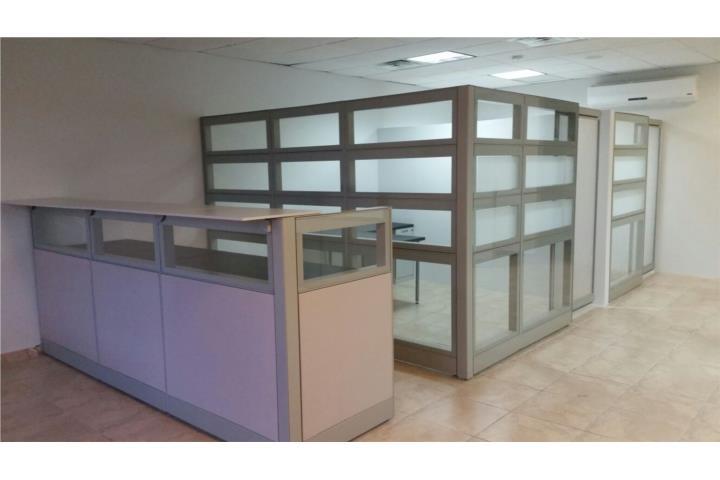 Muebles de oficina modulos escritorios puerto rico for Modulos para oficina