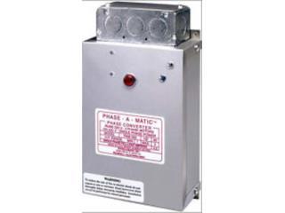 CONVERTIDORES TRIFASICOS [240 phase converter, Josue Refrigeration, Inc. Puerto Rico