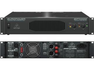 Amplificador Behringer 4000  NUEVO, Music & Technology Puerto Rico