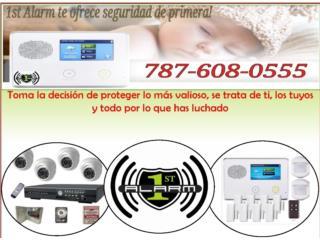 Sistema de seguridad y vigilancia integrado, 1ST ALARM PUERTO RICO  Puerto Rico