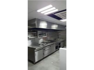 fabricaccion de equipos en ssteel, Restaurant Equipment and Steel Puerto Rico