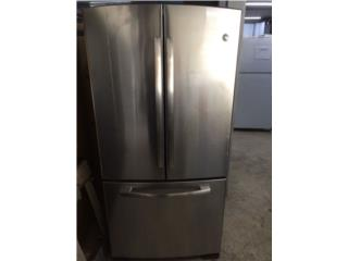 Nevera tipo French-Door refrigerator G.E. , El Resuelve Puerto Rico