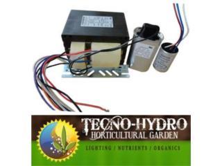 HPS 1000w BALLAST KIT HIDROPONIA, TECNO-HYDRO Puerto Rico