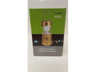 Linterna LED Solar Recargable, WSB Supplies Puerto Rico
