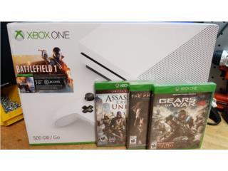 Xbox One Slim Battlefield 1 Combo con juegos!, PRO Electronics Puerto Rico