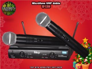 Microfono doble UHF Sky, Baldorioty Music Puerto Rico