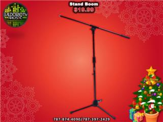 Stand Boom de microfono, Baldorioty Music Puerto Rico