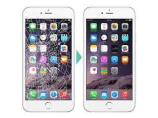 Cristal de Iphone 6S Plus, SAT EXPERTS Puerto Rico