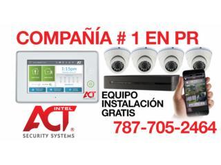 CAMARAS DE HD CON DVR E INSTALACION GRATIS , intelACT Security Systems Puerto Rico