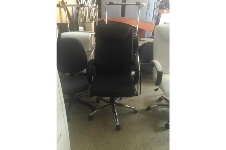 Sillas secretariales y sillas ejecutivas puerto rico for Sillas secretariales