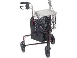 Andador de 3 ruedas Azul 8, Equipos Pro-Impedidos Inc. Puerto Rico