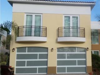 PUERTAS PARA GARAGE EN ALUMINIO Y CRISTAL, EURO GARAGE DOORS Puerto Rico
