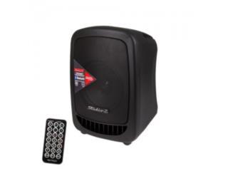 Bocina recargable con Bluetooth y MP3 Player, Baldorioty Music Puerto Rico