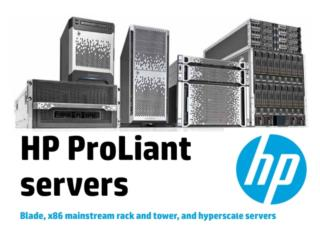 HP Servers, Cloud Solutions BUSINESS ONLY, ACS PUERTO RICO Puerto Rico