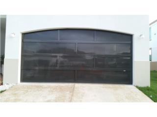Puerta Para Garage Aluminio Perforada, EURO GARAGE DOORS Puerto Rico