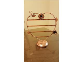 Exhibidor Earring Heart Shape, WSB Supplies U Puerto Rico