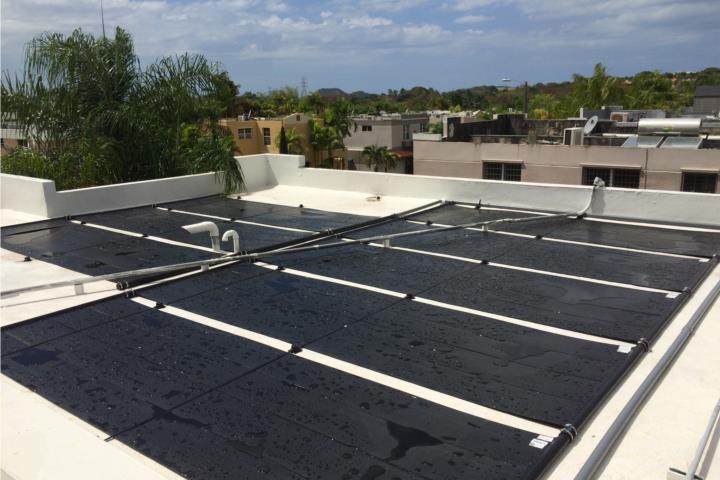 Calentador solar de piscina el mas economico puerto rico for Calentador solar piscina