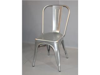 SILLA INDUSTRIAL COLOR PLATA, Furniture Warehouse Outlet: Contract Division Puerto Rico