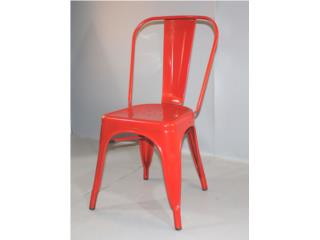 SILLA INDUSTRIAL COLOR ROJA, Furniture Warehouse Outlet: Contract Division Puerto Rico