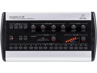 Sistema Behringer de monitoreo digital P16, Baldorioty Music Puerto Rico