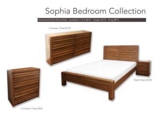 Juego de Cuarto Sophia Tama�o Full, Furniture Warehouse Outlet: Contract Division Puerto Rico