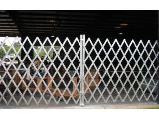 FOLDING GATE (PORTON DE SEGURIDAD) INDUSTRIAL, CARIBE SHELVINGS Puerto Rico