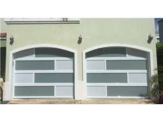 PUERTA PARA GARAGE COMBINADA CON PORTONES , EURO GARAGE DOORS Puerto Rico