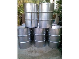 Barriles de Stainless Steel, DRONES PLASTICOS  Puerto Rico